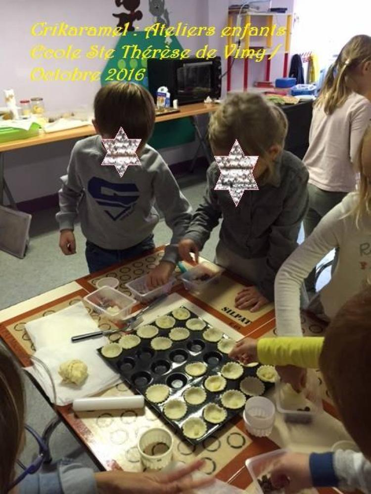 Atelier pâtisserie enfant Liévin